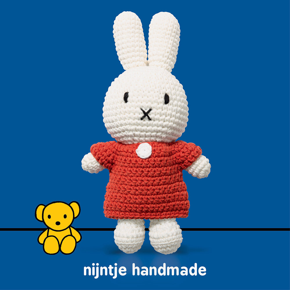 Red Dress Doll - Miffy Handmade - Miffy Club - Etiquette - Etiquette Clothiers NA