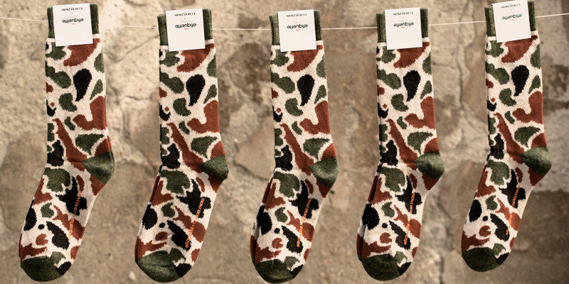 Copy of Etiquette X Le Berlinois Cashmere Camo - Green