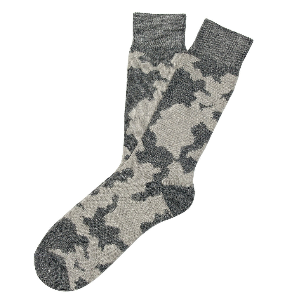 Cashmere Camo - Light / Dark Grey