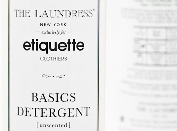 ETIQUETTE + THE LAUNDRESS NEW YORK
