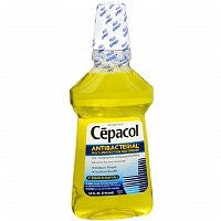 Cepacol Antibacterial Multi-Protection Mouthwash, Gold, 24 Ounce