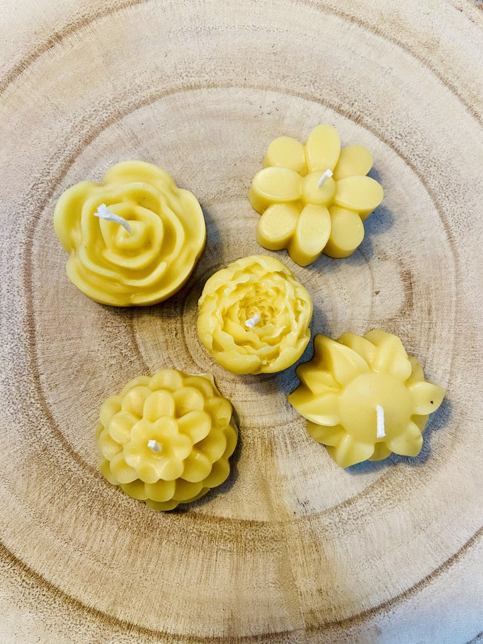 Small Flower Candles