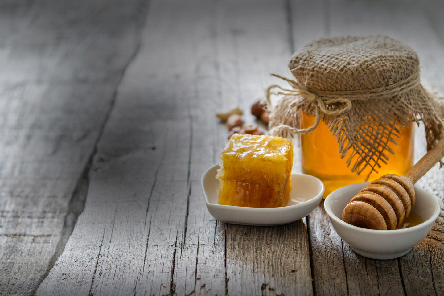 Raw English Honey