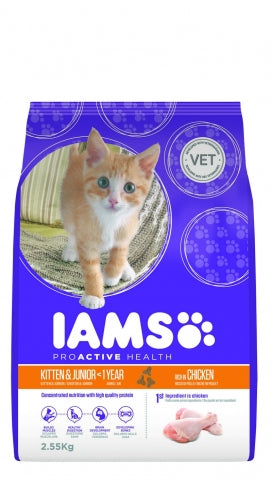 Iams Cat Kitten and Junior