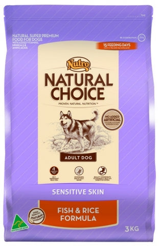 Nutro Adult Sensitive Skin Fish and Rice