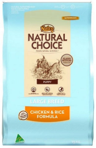 Nutro Puppy Large Breed Chicken and Rice
