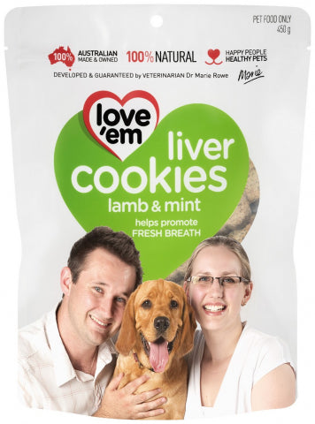 Love cookies lamb and mint
