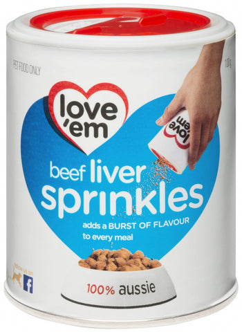 LOVE EM LIVER TREATS SPRINKLES