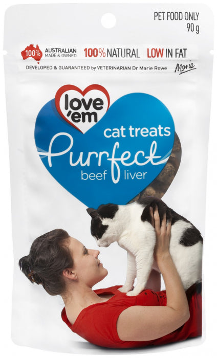 LOVE EM PURRFECT BEEF TREAT