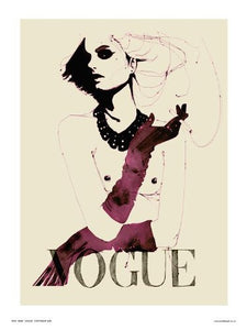 Vogue Pop Art Poster Print by Wig (OTW059) - On the Wall Art Print Posters & Gifts
