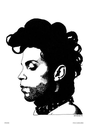 Prince by Becky Mann Poster Art Print - On the Wall Art Print Posters & Gifts