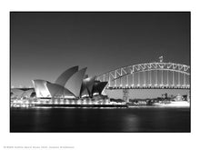 Load image into Gallery viewer, Sydney opera house and harbour Photographic Poster Art Print 30x40cm