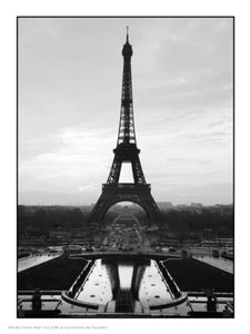 Paris Eiffel Tower Photographic Art Print Poster PDP - On the Wall Art Print Posters & Gifts