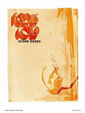 Stone Roses - Fools Gold Poster Art Print by Simon Walker (OTW081) - On the Wall Art Print Posters & Gifts