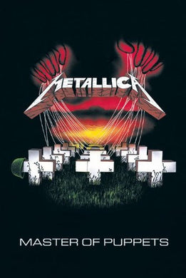 METALLICA (MASTER OF PUPETS) Regular Poster (61x91.5cm) - On the Wall Art Print Posters & Gifts