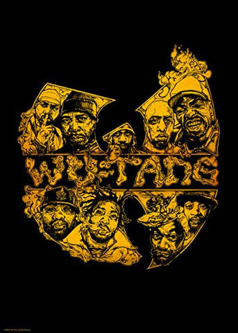 Wu-Tang Clan 70x50cm Art Print - On the Wall Art Print Posters & Gifts