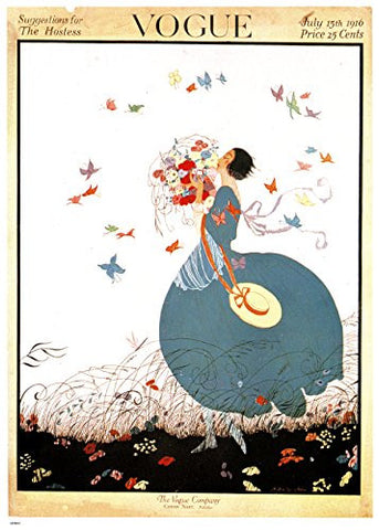 Vogue July 1916 70x50cm Art Print - On the Wall Art Print Posters & Gifts
