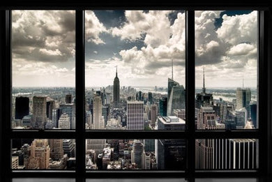 New York Window Regular Poster (61x91.5cm) - On the Wall Art Print Posters & Gifts