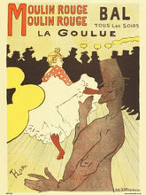Load image into Gallery viewer, Art nouveau Poster Art Print by Henri de toulouse - Lautrec Moulin Rouge PDP 030 - On the Wall Art Print Posters & Gifts
