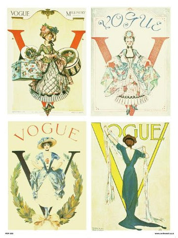 Vogue Vintage Covers Pop Art Poster Print Multi Millinery (PDP 023) - On the Wall Art Print Posters & Gifts