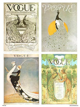 Load image into Gallery viewer, Vogue Vintage Covers Pop Art Poster Print Multi Birds (PDP 025) - On the Wall Art Print Posters & Gifts