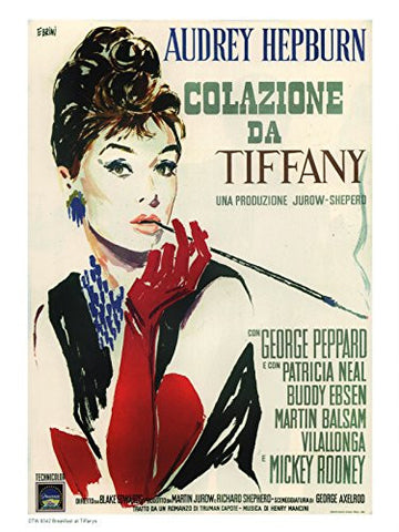 Breakfast at Tiffanys 1950 Poster - On the Wall Art Print Posters & Gifts