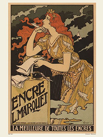 Art nouveau Poster Art Print by Grassetl' Marquet - On the Wall Art Print Posters & Gifts