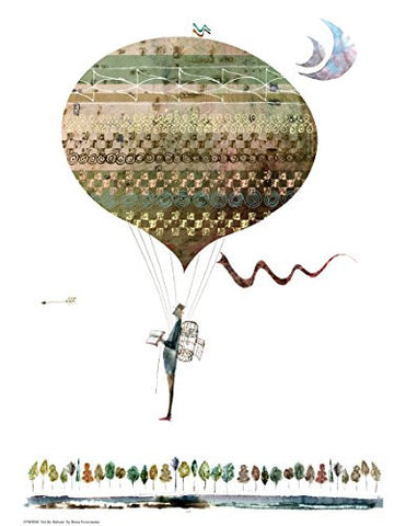 Hot Air Balloon - On the Wall Art Print Posters & Gifts
