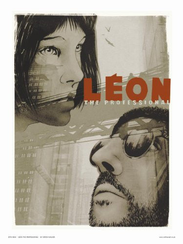 Leon the professional Poster Art Print 30x40cm