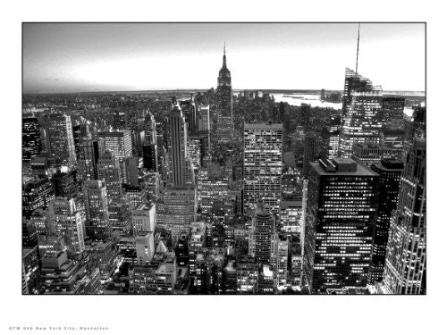 New York Manhattan Photographic Art Print Poster OTW0046 - On the Wall Art Print Posters & Gifts