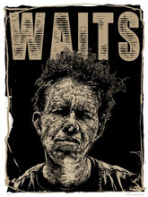 Load image into Gallery viewer, Tom Waits Poster Art Print by Mike Winnard (PDP0034) - On the Wall Art Print Posters & Gifts