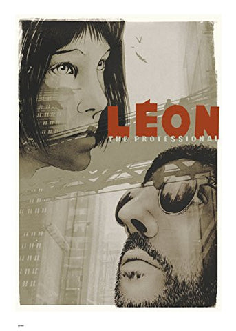 Leon 70x50cm Art Print - On the Wall Art Print Posters & Gifts