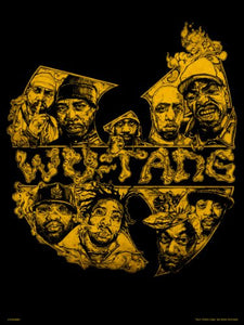 Wu-Tang Poster Art Print by Mike Winnard (OTW0082) - On the Wall Art Print Posters & Gifts