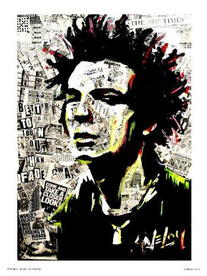 Sid Vicious Sex pistols Pop Art Poster Print by Saveloy (OTW12) - On the Wall Art Print Posters & Gifts