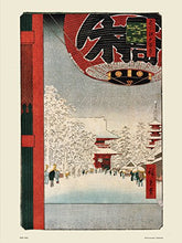 Load image into Gallery viewer, Hiroshige Japanese Poster Art Print Kinryuzan Temple - On the Wall Art Print Posters & Gifts