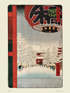 Hiroshige Japanese Poster Art Print Kinryuzan Temple - On the Wall Art Print Posters & Gifts