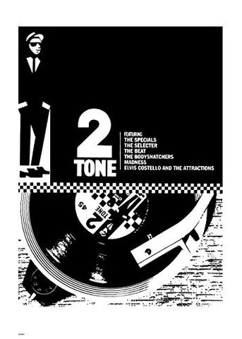 Two Tone 70x50cm Art Print - On the Wall Art Print Posters & Gifts