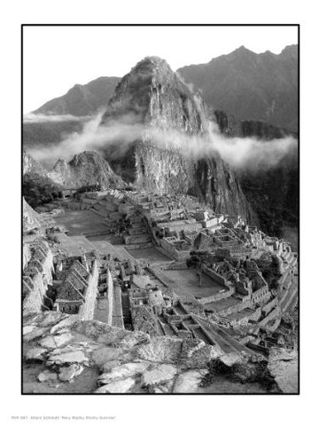 Peru Machu Picchu Sunrise' Allard Schmidt PDP 0047 - On the Wall Art Print Posters & Gifts