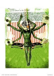 The Second Coming by Simon Walker Pop Art Poster Print (OTW007) - On the Wall Art Print Posters & Gifts