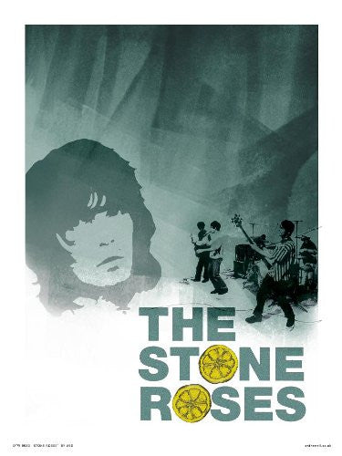 Stone Roses Poster Print by Wig (OTW53) - On the Wall Art Print Posters & Gifts