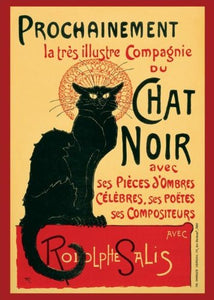 Chat Noir Regular Poster (61x91.5cm) - On the Wall Art Print Posters & Gifts