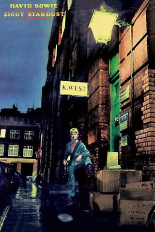 David Bowie Ziggy Stardust Regular Poster (61x91.5cm) - On the Wall Art Print Posters & Gifts