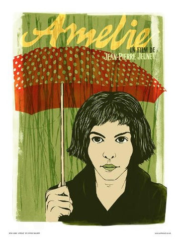 Amelie Poster Art Print by Simon Walker (OTW80) - On the Wall Art Print Posters & Gifts