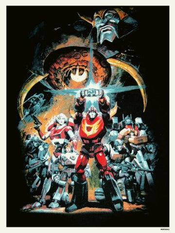 Transformers The Movie Poster Art Print (MSP002) - On the Wall Art Print Posters & Gifts