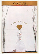 Load image into Gallery viewer, Vintage Vogue Le Coeur De La France - On the Wall Art Print Posters & Gifts