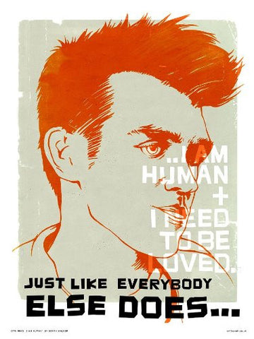 THE SMITHS - MORRISSEY POSTER PRINT by SIMON WALKER (OTW045) - On the Wall Art Print Posters & Gifts
