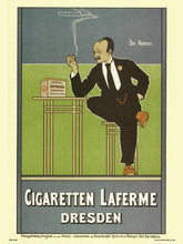 Load image into Gallery viewer, Art nouveau Poster Art Print by Fritz Rehm - Cigaretten Laferme Dresden (PDP 006) - On the Wall Art Print Posters & Gifts