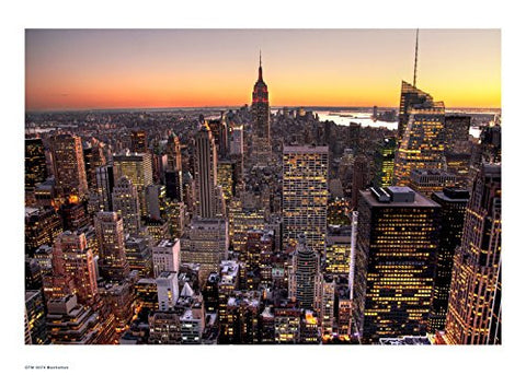 Manhattan New York Poster Art Print - On the Wall Art Print Posters & Gifts