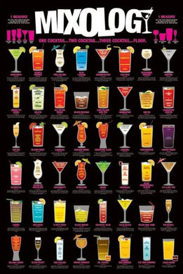Cocktails Regular Poster (61x91.5cm) - On the Wall Art Print Posters & Gifts
