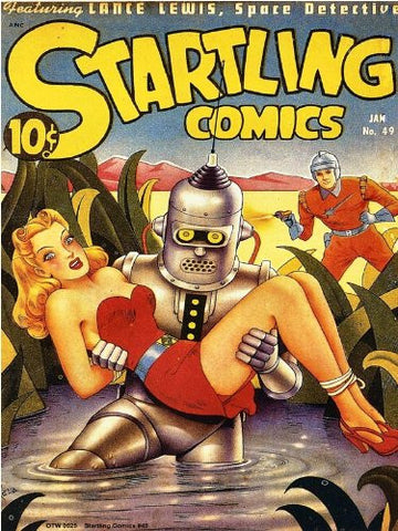 Startling Comics (#49) Vintage Comic Poster Art Print (OTW0009) - On the Wall Art Print Posters & Gifts